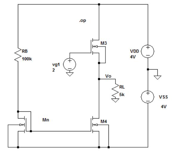 circuit simulator follower