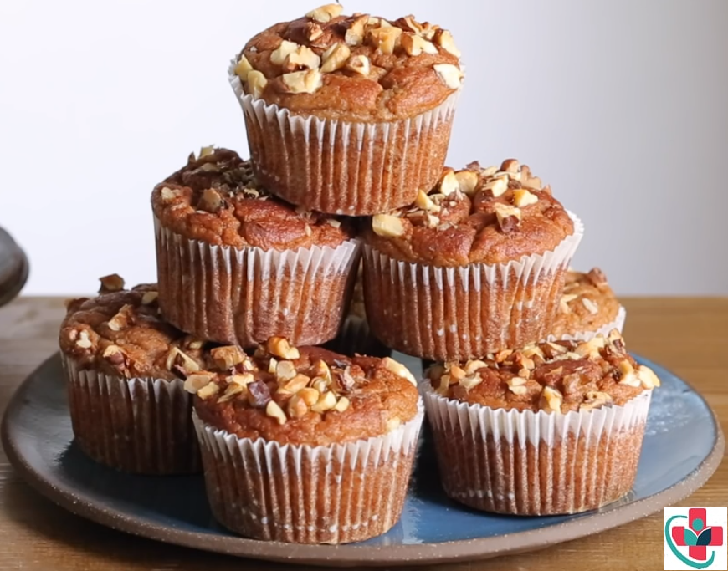 You need to try these yummy, super easy banana nut muffins.