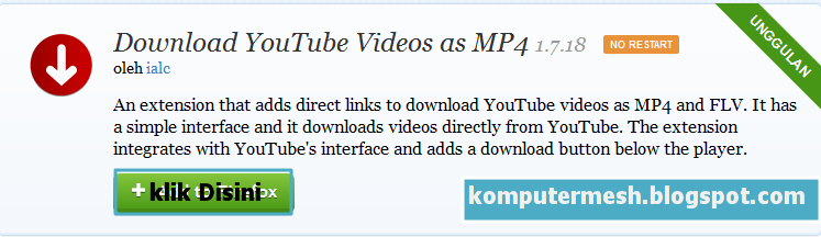 3 Cara Mudah Download Video Di YouTube