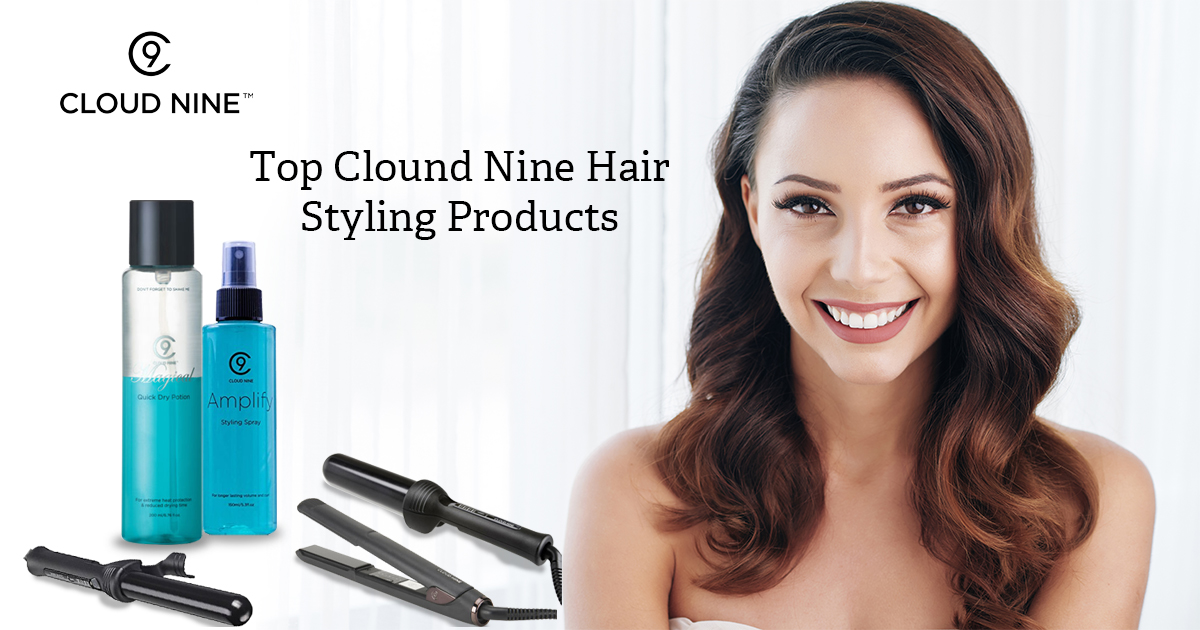 cloud nine hair styling products in uk