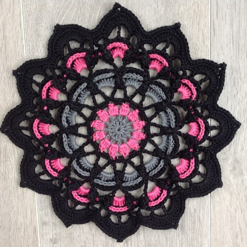 Frozen Lotus - Free Crochet Pattern