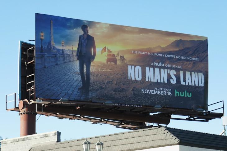 No Mans Land series premiere billboard
