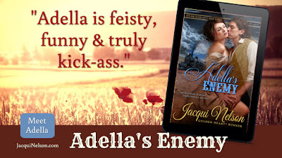 """Review quote: Adella is feisty, funny & truly kick-ass"""""""