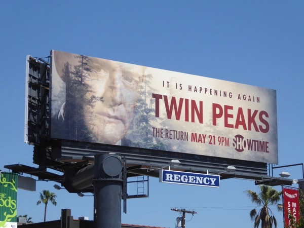 Twin Peaks The Return billboard