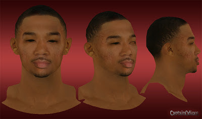 NBA 2K13 Orlando Johnson Cyberface Mod