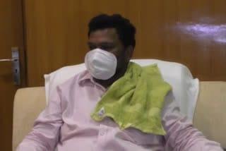 minister-jagannath-mahto-reach-jamshedpur
