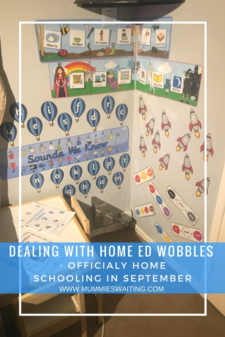 Are you feeling nervous about home educating in September? Are you ready to home school but are worried it won't work? Then I am right here with you.