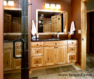hickory bathroom vanity cabinets