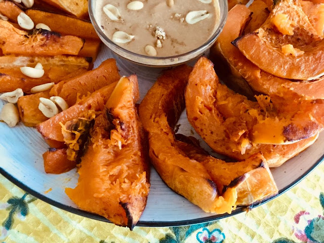 Baked butternut squash fries http://www.realfoodblogger.com