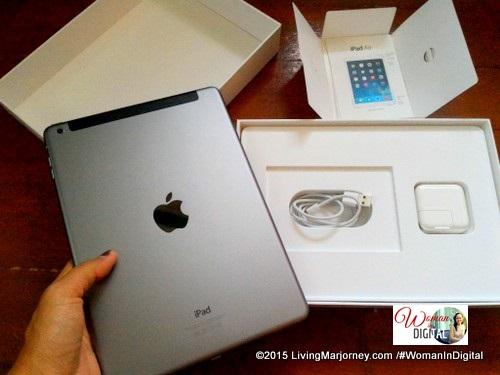 Unboxing iPad Air