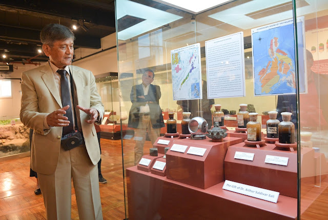 specimens and artifacts on exhibit are: the diamond and tungsten drilling bits that penetrated Nido-1 and Cadlao-1, the Philippines' first and second discovered oil wells in offshore northwest Palawan
