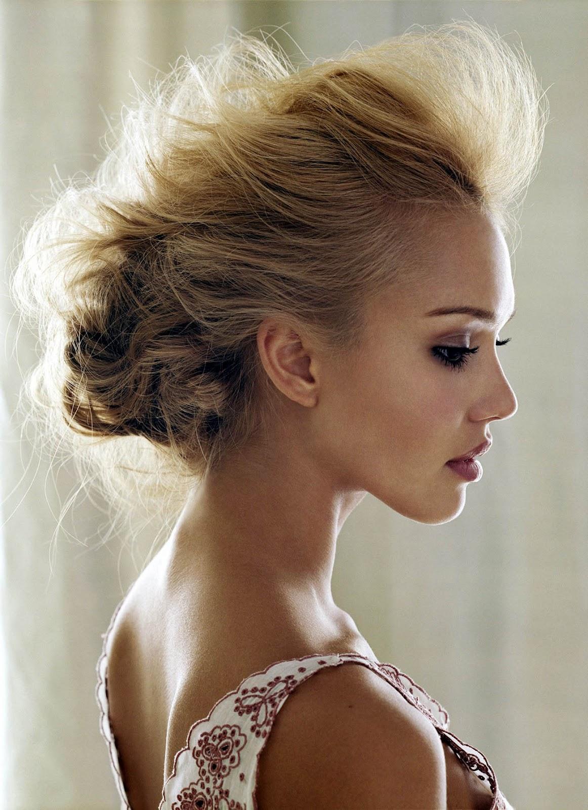 Beautiful Fun Fall Wedding Inspiration: Bollywood Actress World (Original): Jessica Alba Stunning