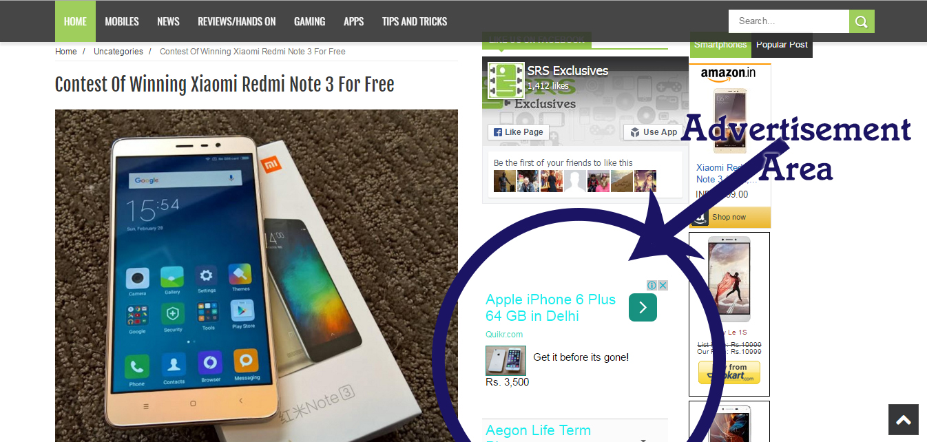 How to win Xiaomi Redmi 3  for free!