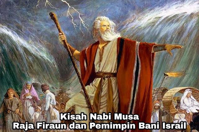 Kisah Nabi Musa – Tongkat Ular dan Pembelah Lautan
