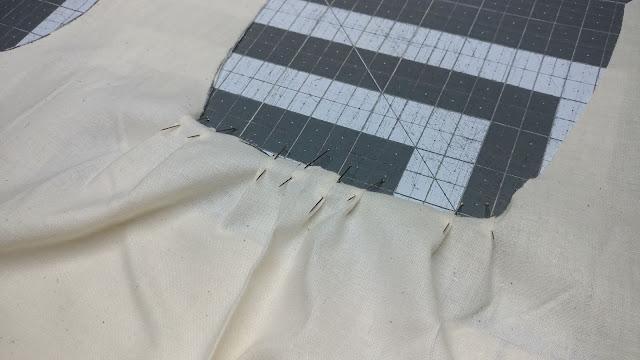 Making a muslin test shirt