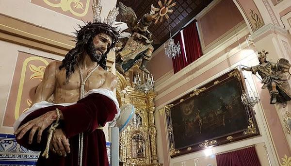 Hoy Bendición de Nuestro Padre Jesús de la Salud en el Arahal