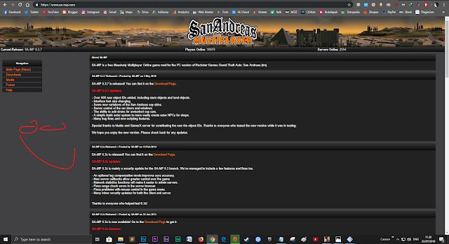 website resmi SAMP