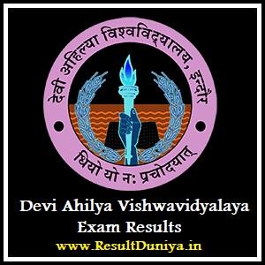 DAVV BA Part-1 Part-2 Part-3 Result 2020