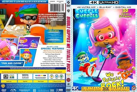 la feria del dvd: BUBBLE GUPPIES WE TOTALLY ROCK