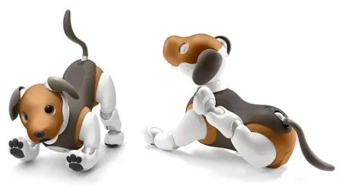 aibo robot anjing yang pintar