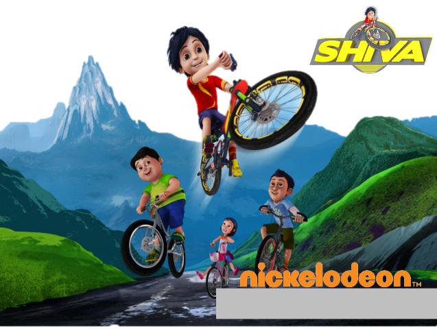 Shiva game cartoon