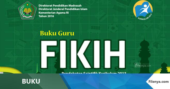 Buku MI Kls 6 Fikih Kurikulum 2013 Revisi 2016