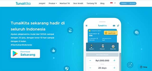 Tunai Kita - Aplikasi Pinjaman Online android terbaik