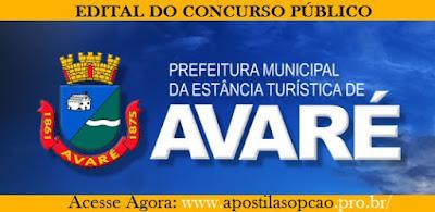 Apostila Prefeitura Municipal de Avaré-SP - Agente Comunitário de Saúde (USF)