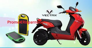 Logo Caricati di Eco Energia e vinci Solar Powerbank e Scooter Vectrix