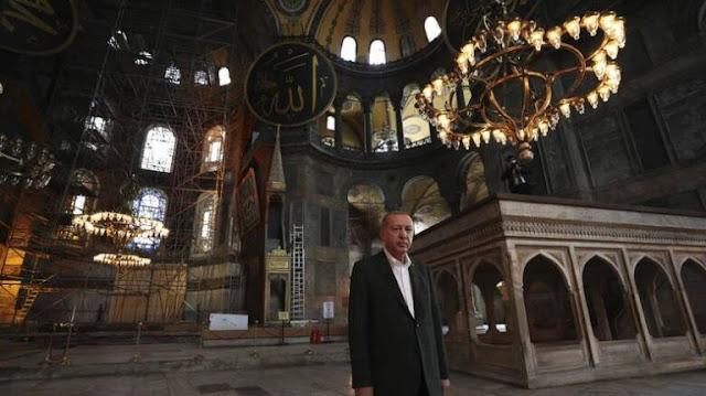 Η πολιτική του Ερντογάν μετά την Αγία Σοφία