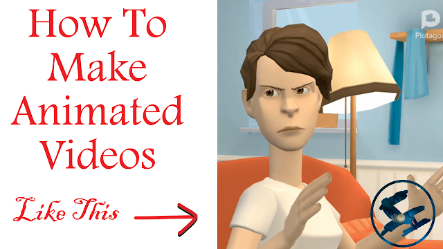 Animated Videos, how to make animated videos , make animated videos using plotagon
