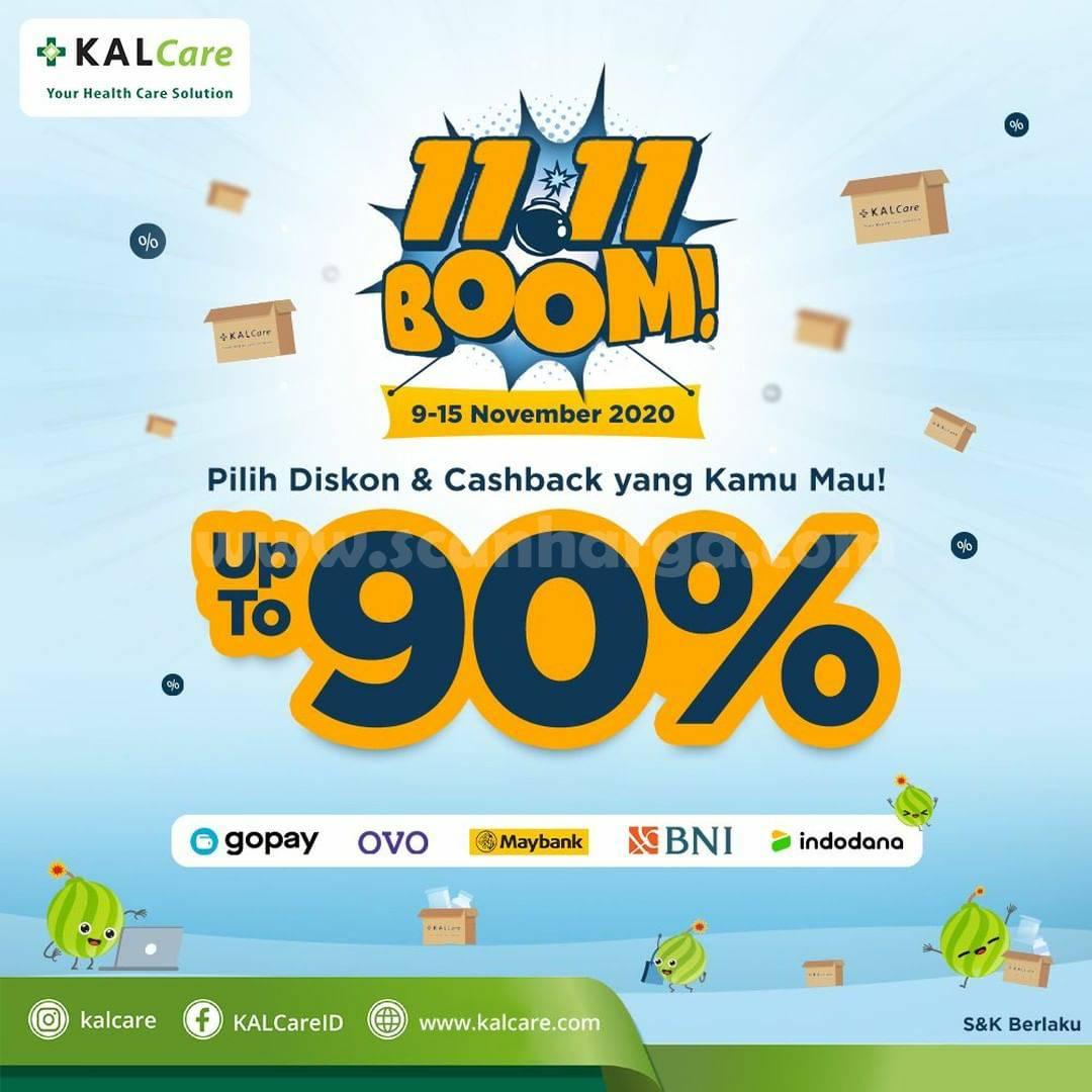 Promo KALCare BOOM 11.11 [Diskon & Cashback] hingga 90%