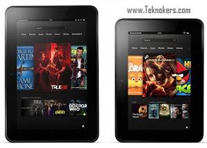 harga tablet kindle fire HD terbaru, spesifikasi lengkap tablet pc android kindle fire 7 dan 8.9 hd, tablet android murah fitur jempolan