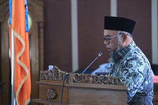 Bupati Labuhanbatu Hadiri Rapat Paripurna Penyampaian Hasil Reses DPRD Tahun 2020-2021