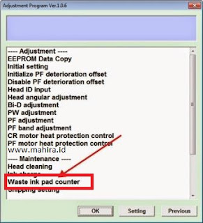 How to Reset Printer Epson T1100