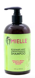MIELLE Rosemary Mint sulfate-free shampoo