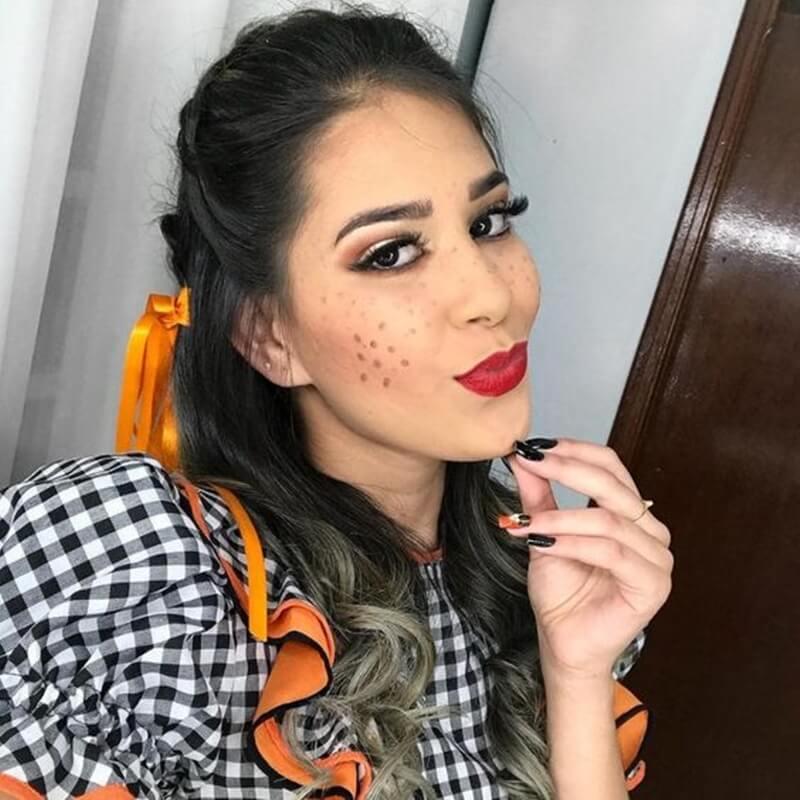Maquiagem para festa junina