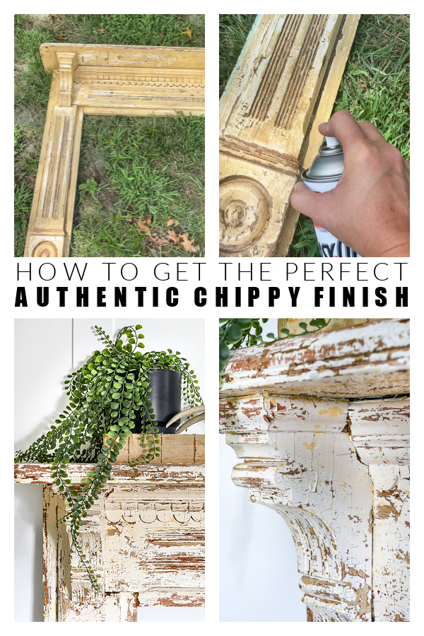 How to get the perfect authentic chippy finish