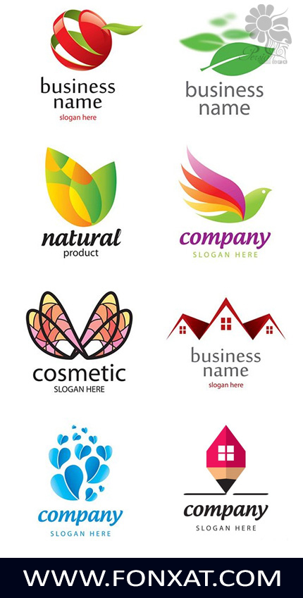 مجموعة من الشعارات الفيكتور Download Creative logo vector images
