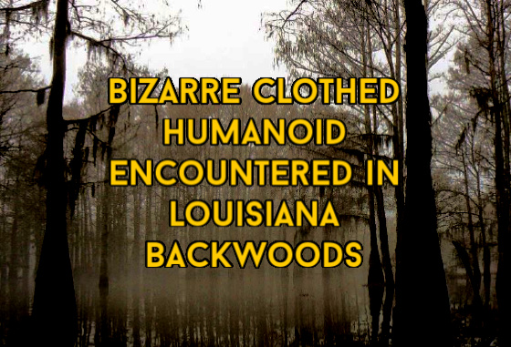 Louisiana backwood humanoid
