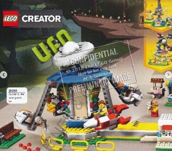 Lego Creator New Sets 2019