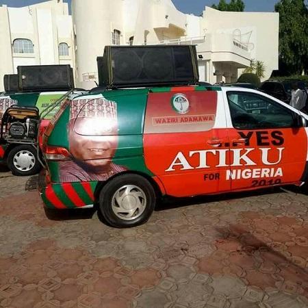 Atiku Branded PDP 2019 Campaign Vehicle