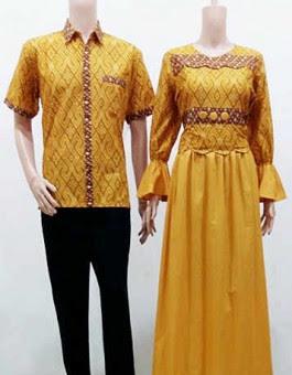 15 Model Baju Batik Couple Terbaru 2017  Gaya Modern  Tutorial