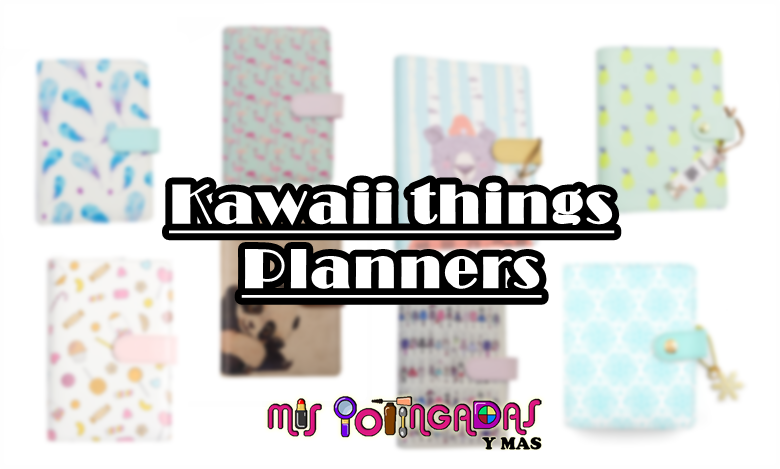 Kawaii things | Buscando una nueva planner en Aliexpres