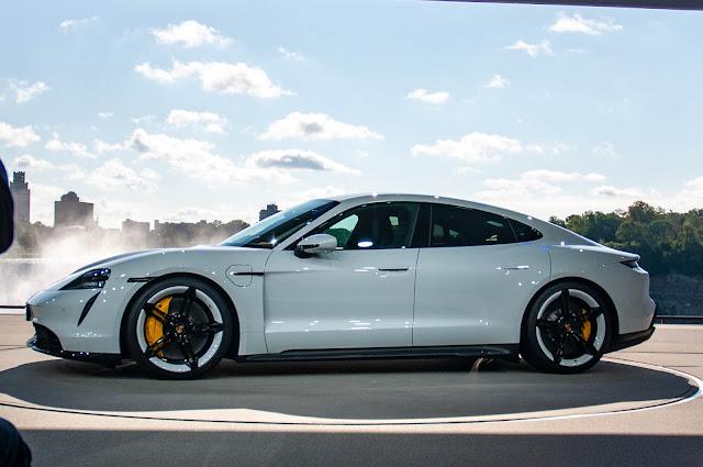 The 2020 Porsche Taycan
