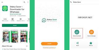 cara download status whatsapp dengan aplikasi