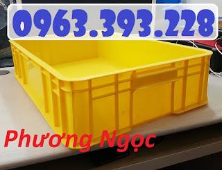 Thùng nhựa đặc cao 15, thùng nhựa HS007, thùng nhựa công nghiệp 20180407_115550
