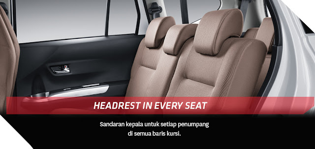 Interior Toyota Calya Model baru