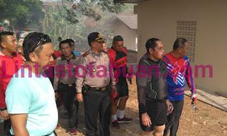 Wakapolda Lampung Kunjungi Mako Polres Pringsewu