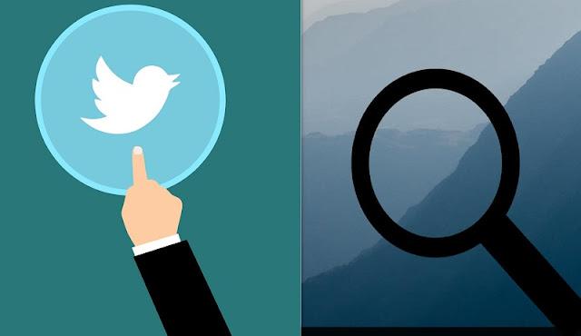 البحث في تويتر من غير حساب على الموقع